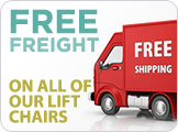 Free Shipping on All Lift Chairs