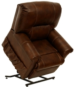 Catnapper 4843 Vintage Pow'r Lift Leather Chaise Recliner