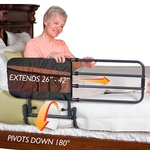 Adjustable Bed Rail For Standard Home Beds