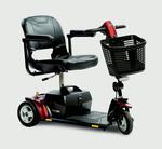 Pride Go Go Elite Traveller® Plus 3 Wheel Travel Scooter SC53