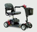 Pride Go Go Elite Traveller® Plus 4 Wheel Travel Scooter SC54