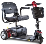 (Private Seller) - Used Pride Go-Go Sport 3-Wheel Travel Scooter